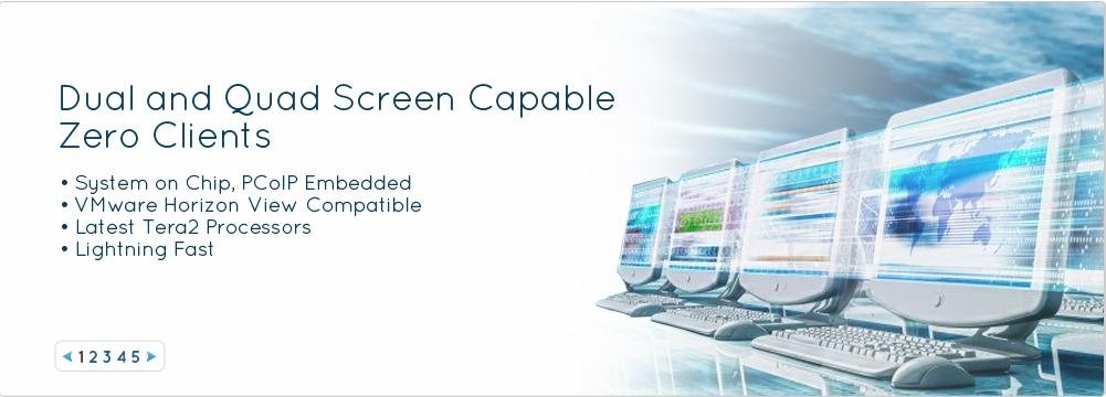 IO Corp - HOME - PCoIP Zero Clients, Teradici 2-Display and